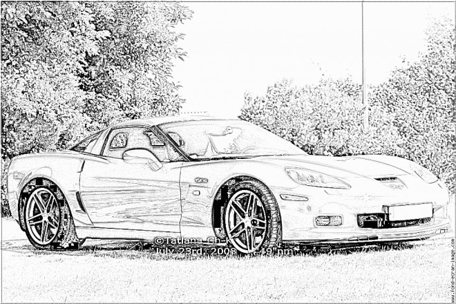Free coloring and drawings Chevrolet 36 Coloring page