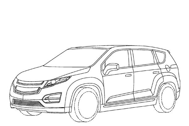 Free coloring and drawings Chevrolet 37 Coloring page