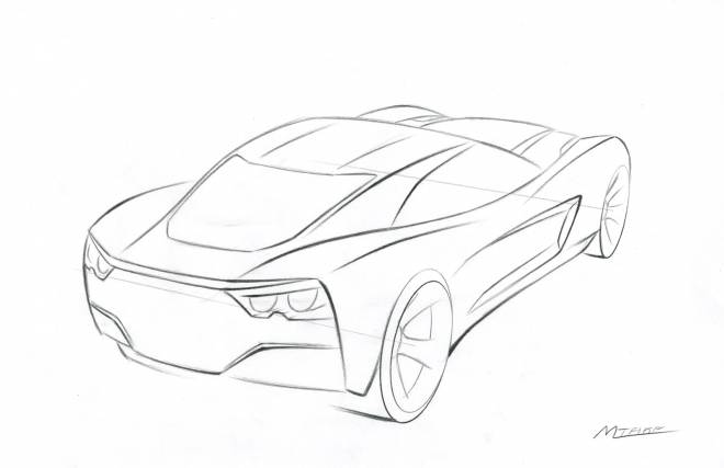 Free coloring and drawings Chevrolet 4 wheels Coloring page