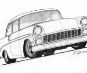 Coloring pages Chevrolet 42
