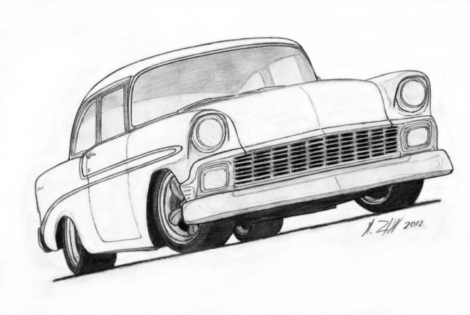 Free coloring and drawings Chevrolet 42 Coloring page