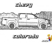Coloring pages Chevrolet 49