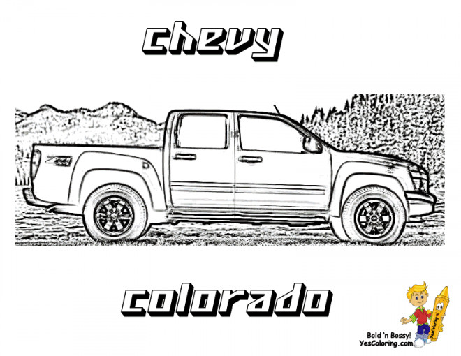 Free coloring and drawings Chevrolet 49 Coloring page