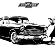 Coloring pages Chevrolet 5