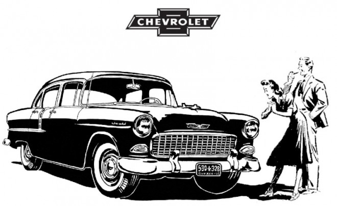 Free coloring and drawings Chevrolet 5 Coloring page