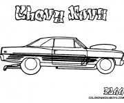 Coloring pages Chevrolet 7