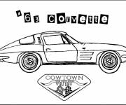 Free coloring and drawings Chevrolet adult Coloring page