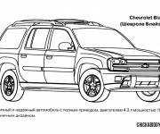 Coloring pages Chevrolet beautiful