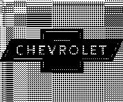 Coloring pages Chevrolet car sign