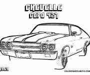 Coloring pages Chevrolet Cup 427