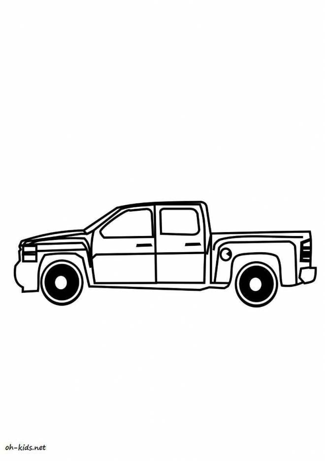 Free coloring and drawings Chevrolet oustanding Coloring page