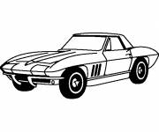 Coloring pages Chevrolet speed