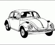 Coloring pages Chevrolet sport easy