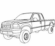 Free coloring and drawings Chevrolet to cut out Coloring page