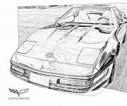 Coloring pages Chevrolet to download