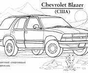 Coloring pages Chevrolet to print