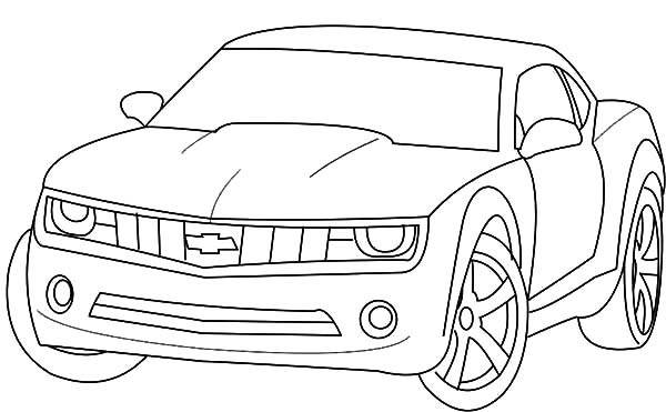 Free coloring and drawings Chevrolet vehicule Coloring page