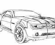 Coloring pages Easy Chevrolet