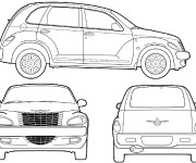 Coloring pages Automobile Chrysler