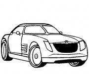 Coloring pages Chrysler 2300c