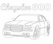 Coloring pages Chrysler car coloring