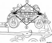 Coloring pages Chrysler engine