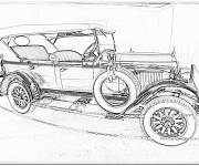Coloring pages Chrysler old model