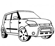 Coloring pages Chrysler Pick Up