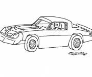 Coloring pages Chrysler racing