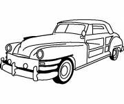 Coloring pages Classic chrysler