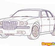 Coloring pages Stylized Chrysler