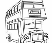 Coloring pages London buses online