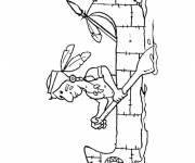 Coloring pages Canoe Antiquity