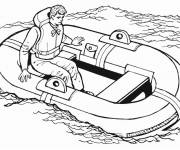 Coloring pages Ship in The Sea