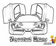 Coloring pages Ferrari Enzo to download