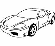 Coloring pages LaFerrari the beautiful Italian car house