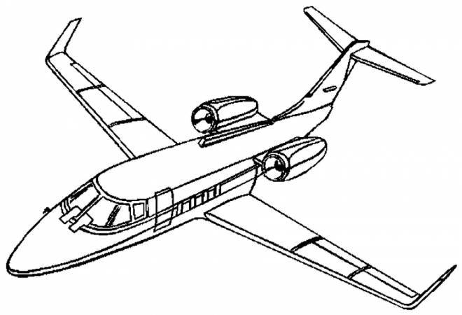 Free coloring and drawings Burst Fighter Plane Coloring page