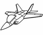Coloring pages Fighter plane drawing