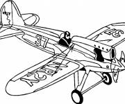 Coloring pages NR2Y Fighter Plane