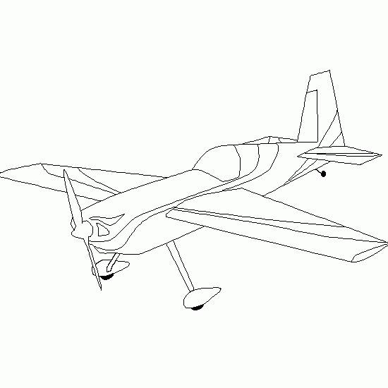 Free coloring and drawings Small War Plane Coloring page