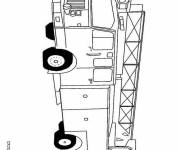 Coloring pages Fire truck vehicle to decorate