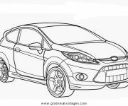 Coloring pages Ford Focus RS Online