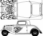 Coloring pages Ford Model T Painting