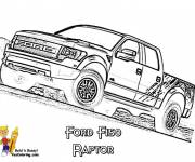 Coloring pages Ford pickup truck