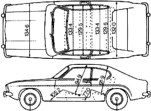 Free coloring and drawings Ford Technical Coloring page