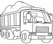 Coloring pages 10 wheel truck