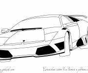 Coloring pages Lamborghini to download