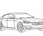 Coloring pages Classic bmw