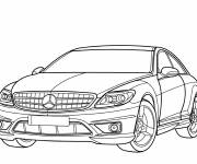 Free coloring and drawings Mercedes amg color Coloring page