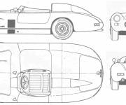 Coloring pages Mercedes automobile in one place